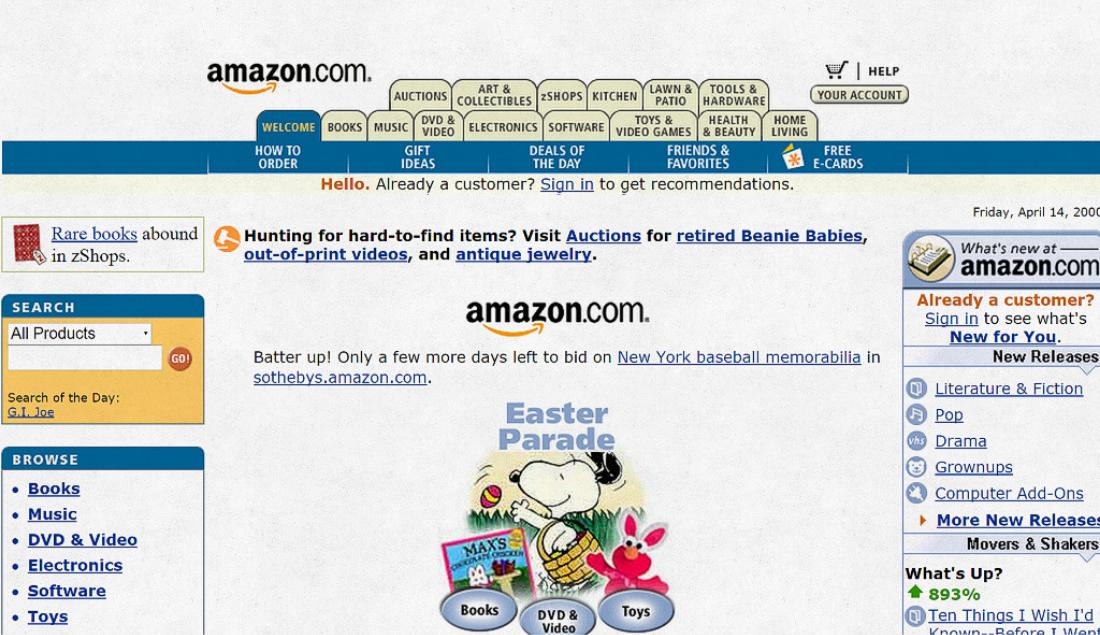 Amazon.com screenshot.