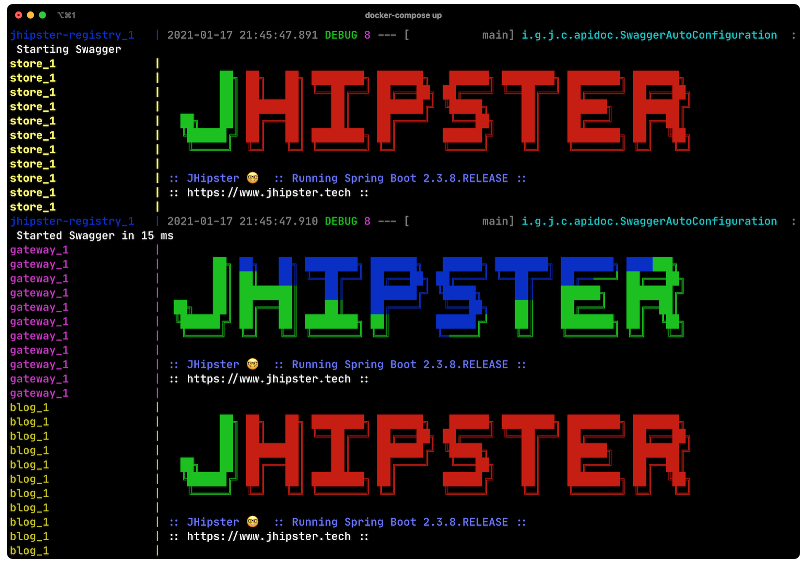 Reactive Microservices, Spring Boot and JHipster With Reactive Microservices?