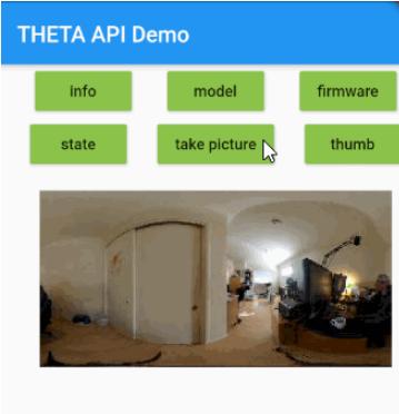 THETA API Demo
