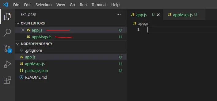Created 2 JavaScript Files