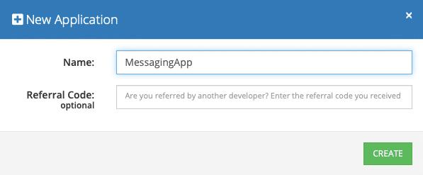 MessagingApp Setup