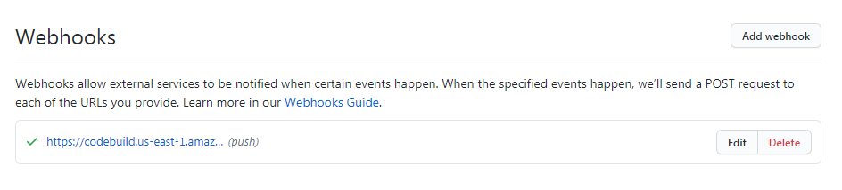 GitHub Webhook