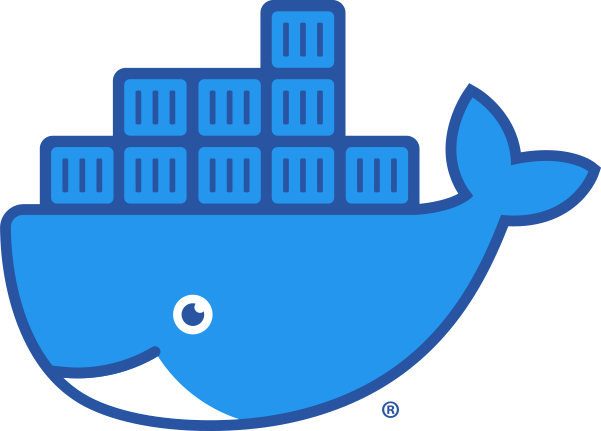 Docker Container Whale