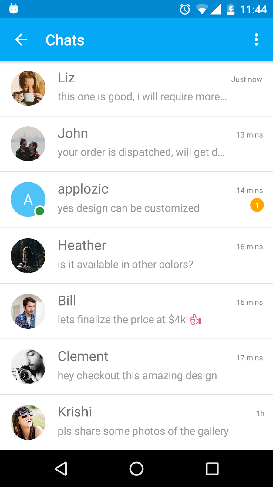Add Chat Using Applozic in 5 mins - DZone Mobile
