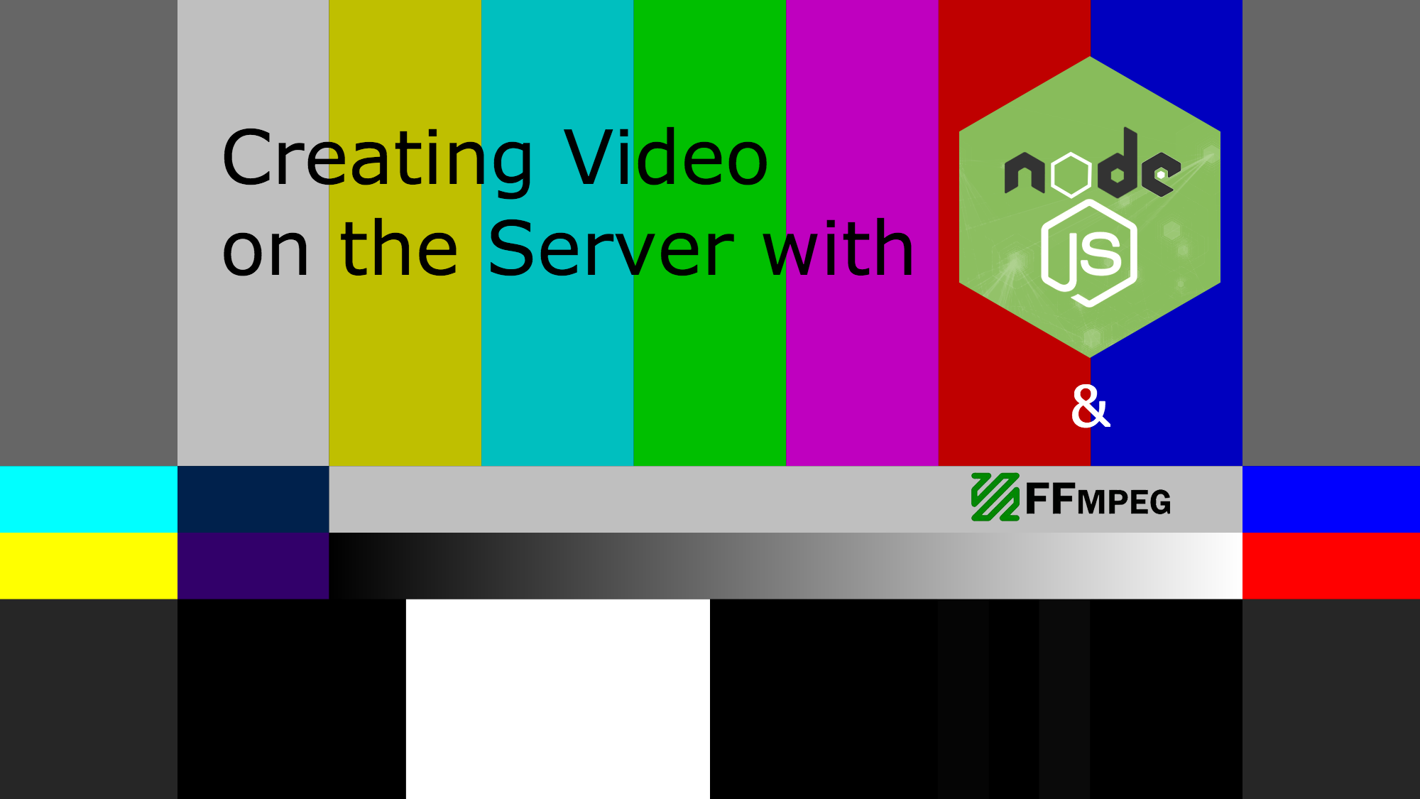Creating Video on the Server in Node js - DZone Web Dev