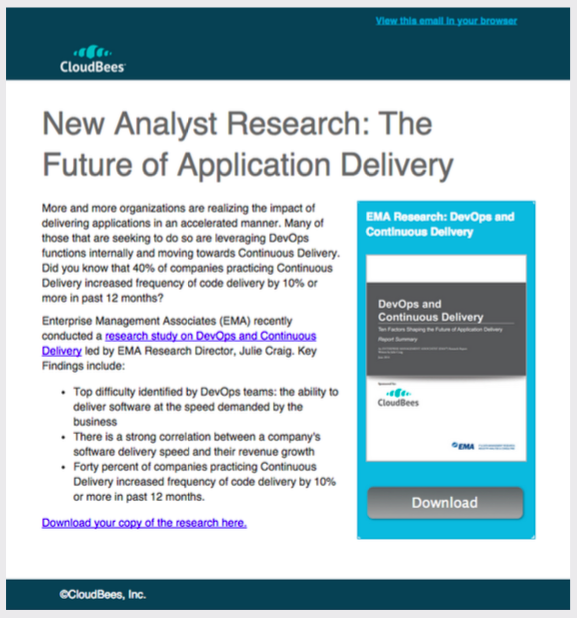 Cloudbees Analyst Research