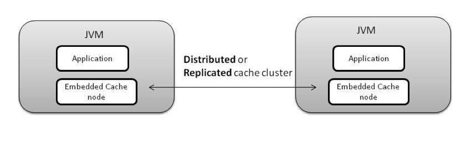 Distributed or Replicated Embedded Cache