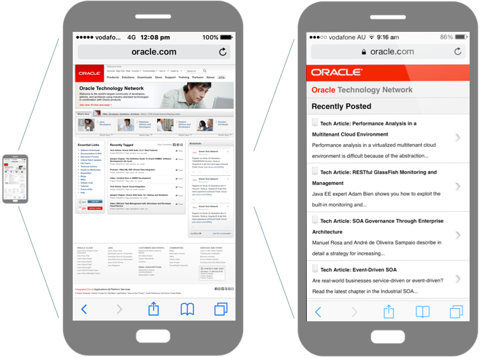 Responsive Web Design With Oracle JET - DZone Web Dev