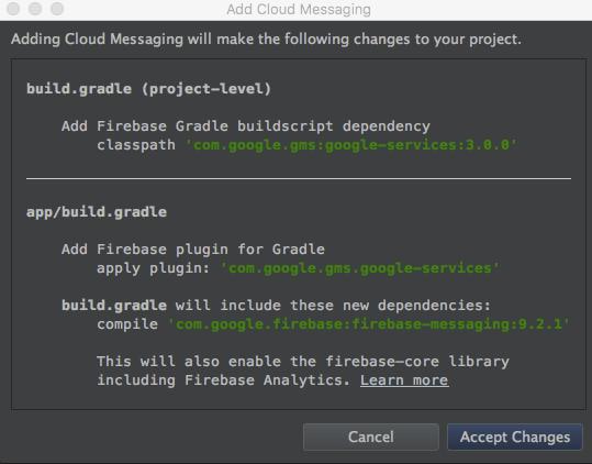 Building a Firebase Cloud Messaging App (Part 2) - DZone Cloud