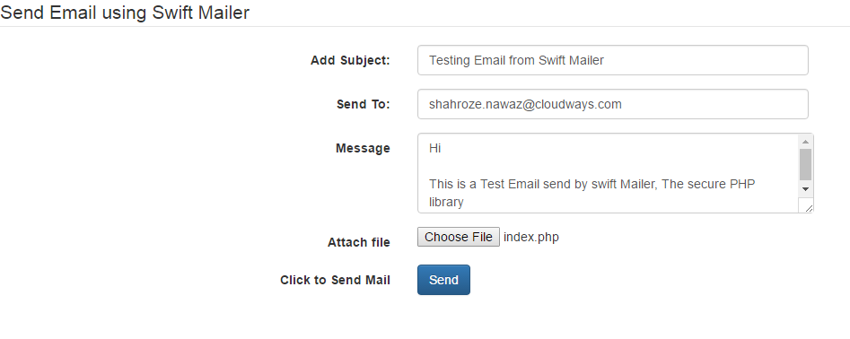 How to Send Emails Using Swift Mailer - DZone Mobile