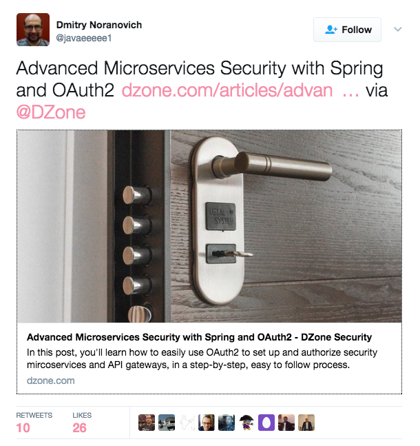 Security Zone on Twitter