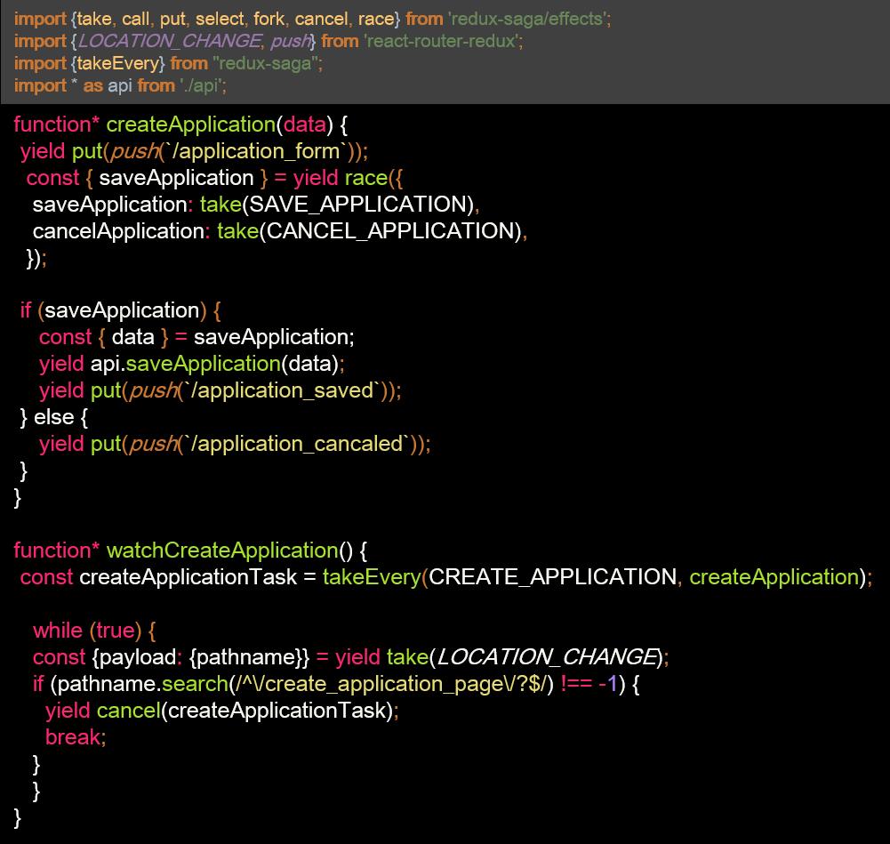 Describing Full Flow Using Redux Saga - DZone Web Dev