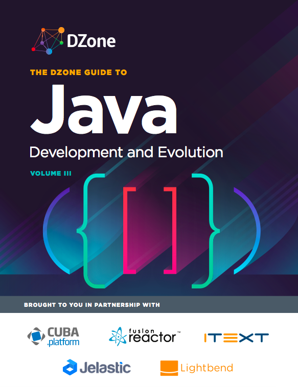 DZone Guide to Java: Development and Evolution