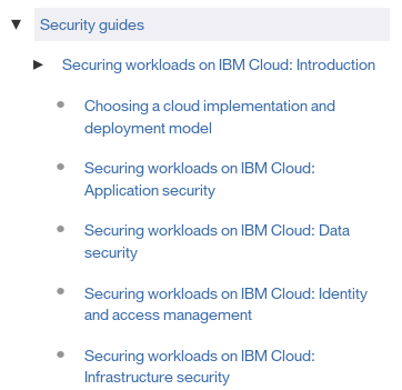 Security Guide for IBM Cloud
