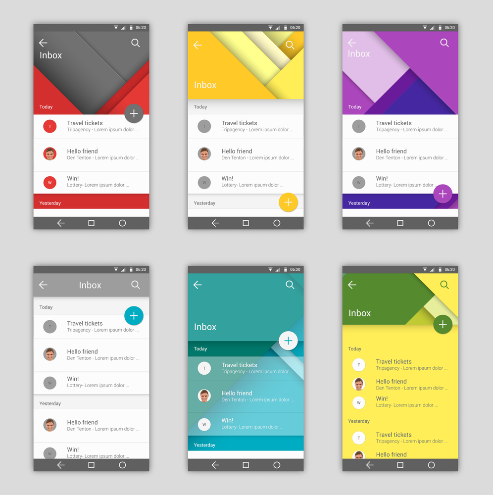 Biggest mobile app design trends in 2017 dzone mobile for Mobel design