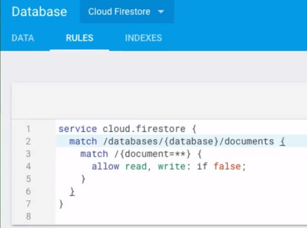 Cloud Firestore: Read, Write, Update/Realtime, and Delete