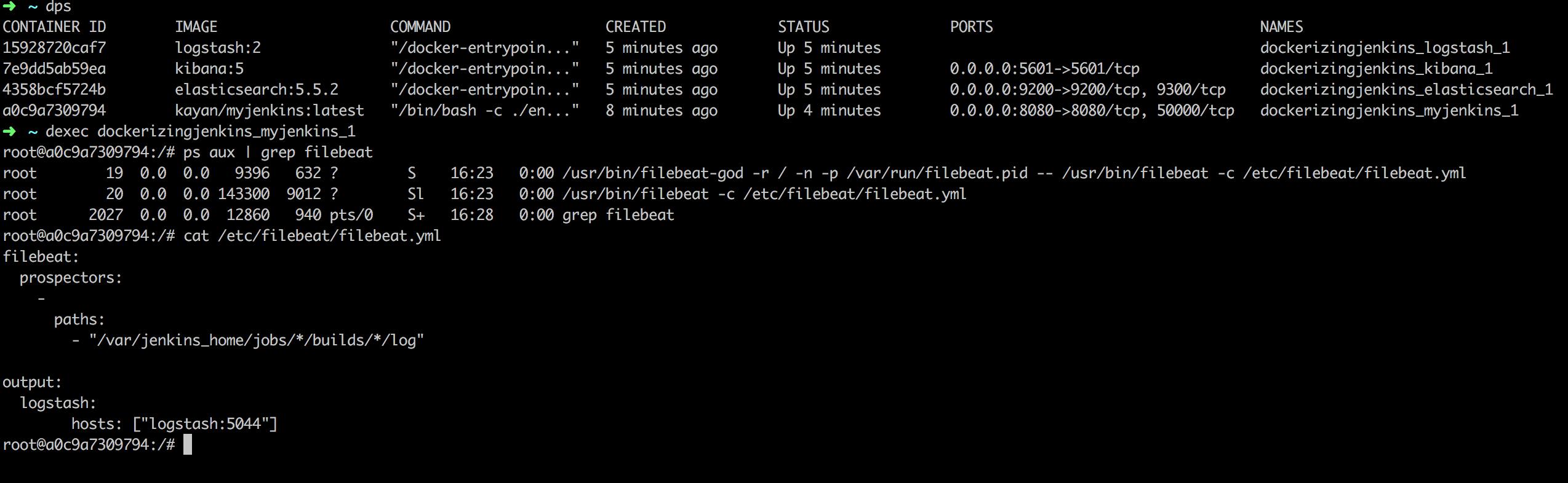 Putting Jenkins Build Logs Into Dockerized ELK Stack - DZone