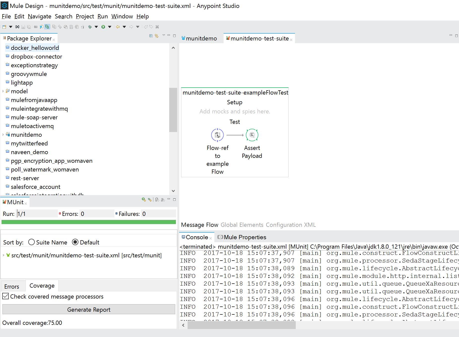 MUnit Framework- Mule Unit Testing - DZone Integration