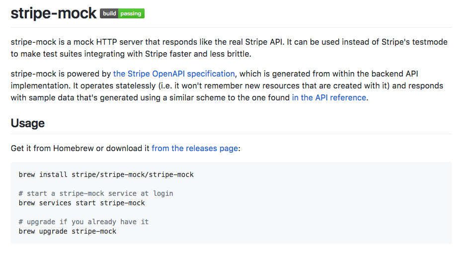 The openapi powered mock api server from stripe dzone integration the stripe mock server is written in go and is available on github you can rebuild the stripe api mock server from an updated openapi anytime malvernweather Choice Image