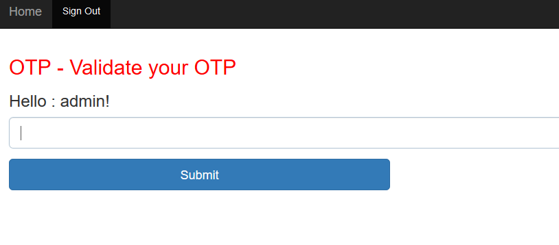 OTP (One Time Password) Using Spring Boot and Guava - DZone