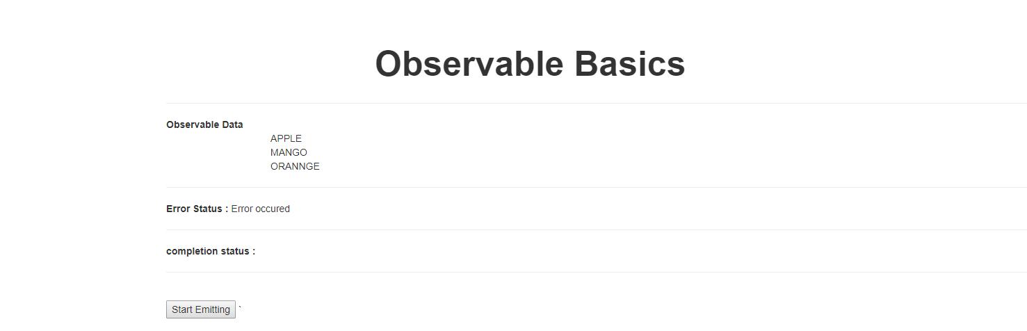 Observables With Angular 5 - DZone Web Dev