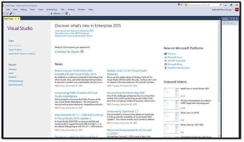 Develop Mobile App Using Visual Studio 2015 (Apache Cordova