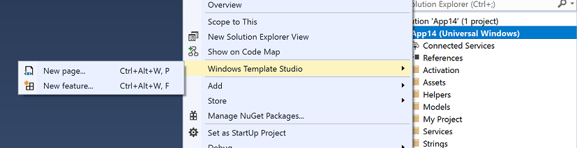 Create UWP Apps With VB Net and Windows Template Studio