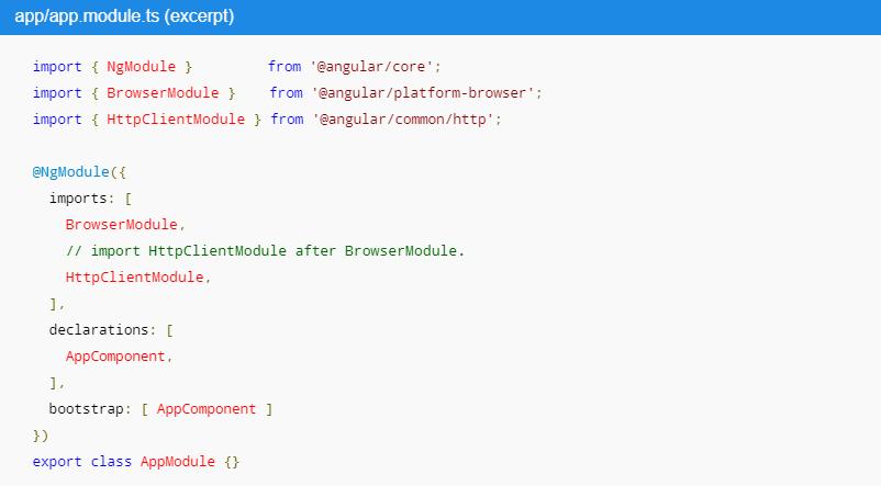 Angular Http Module