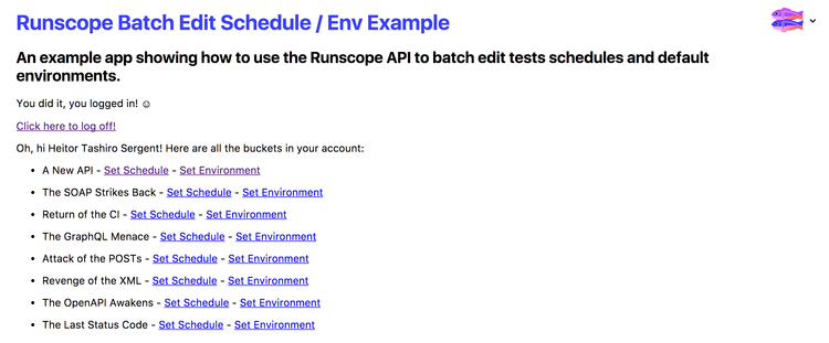 Playing With Node js and the Runscope API on Glitch - DZone