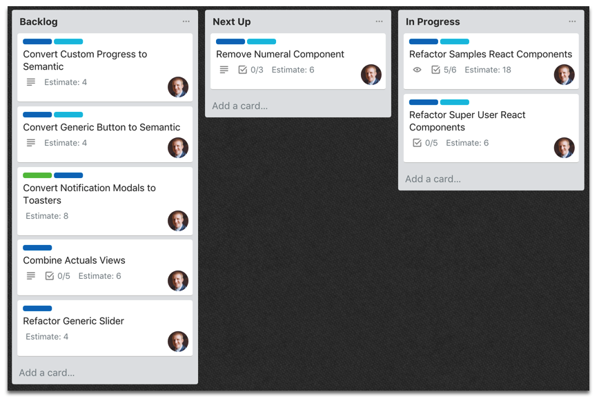 Trello Project Board