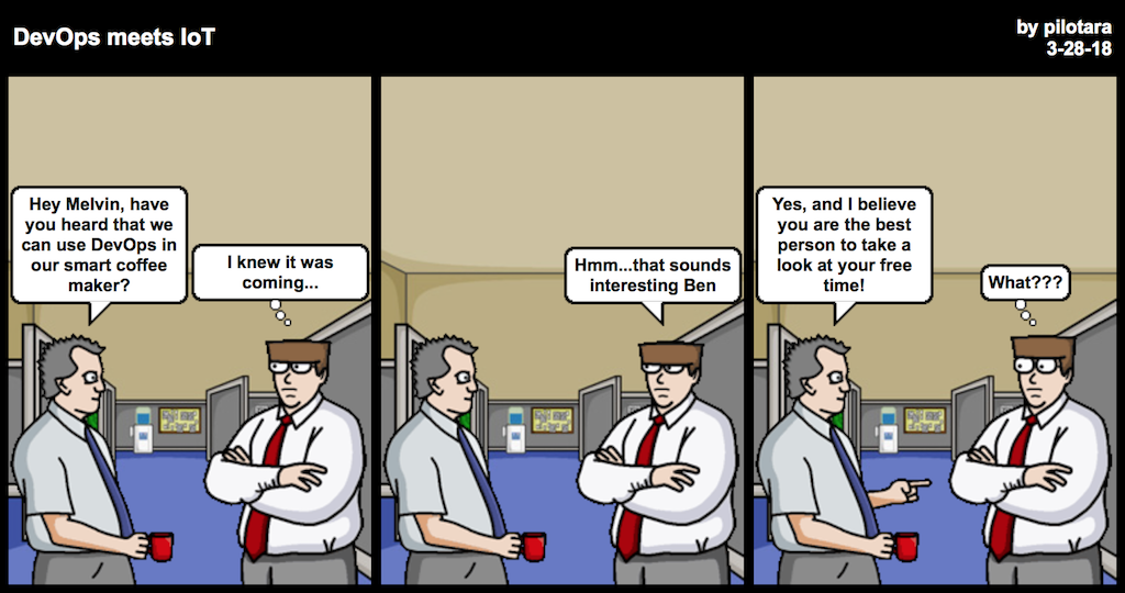 DevOps meets IoT comic
