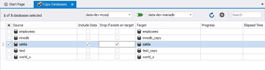 Copy Databases Tool