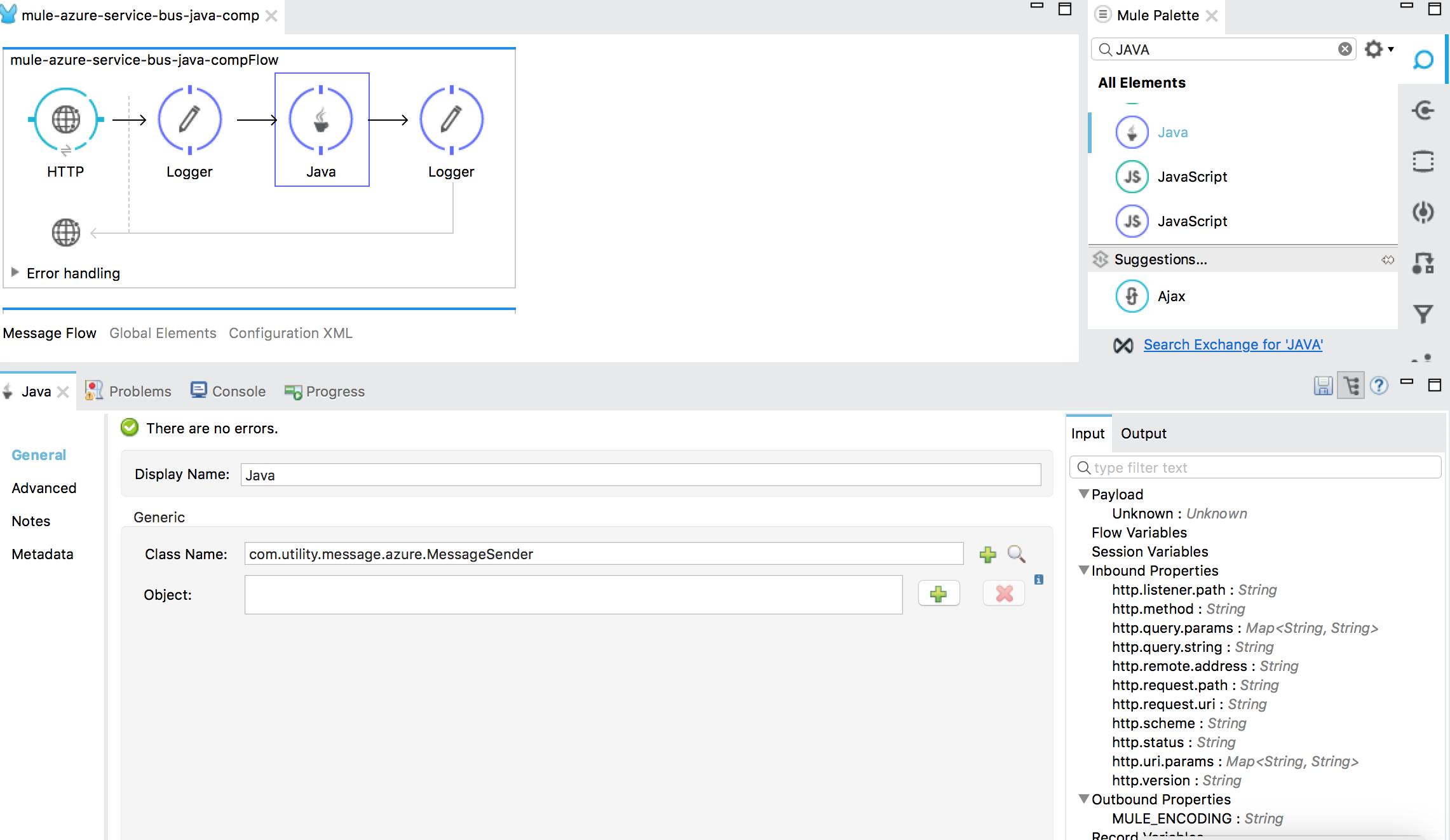 Mule ESB and Microsoft Azure Service Bus - DZone Integration