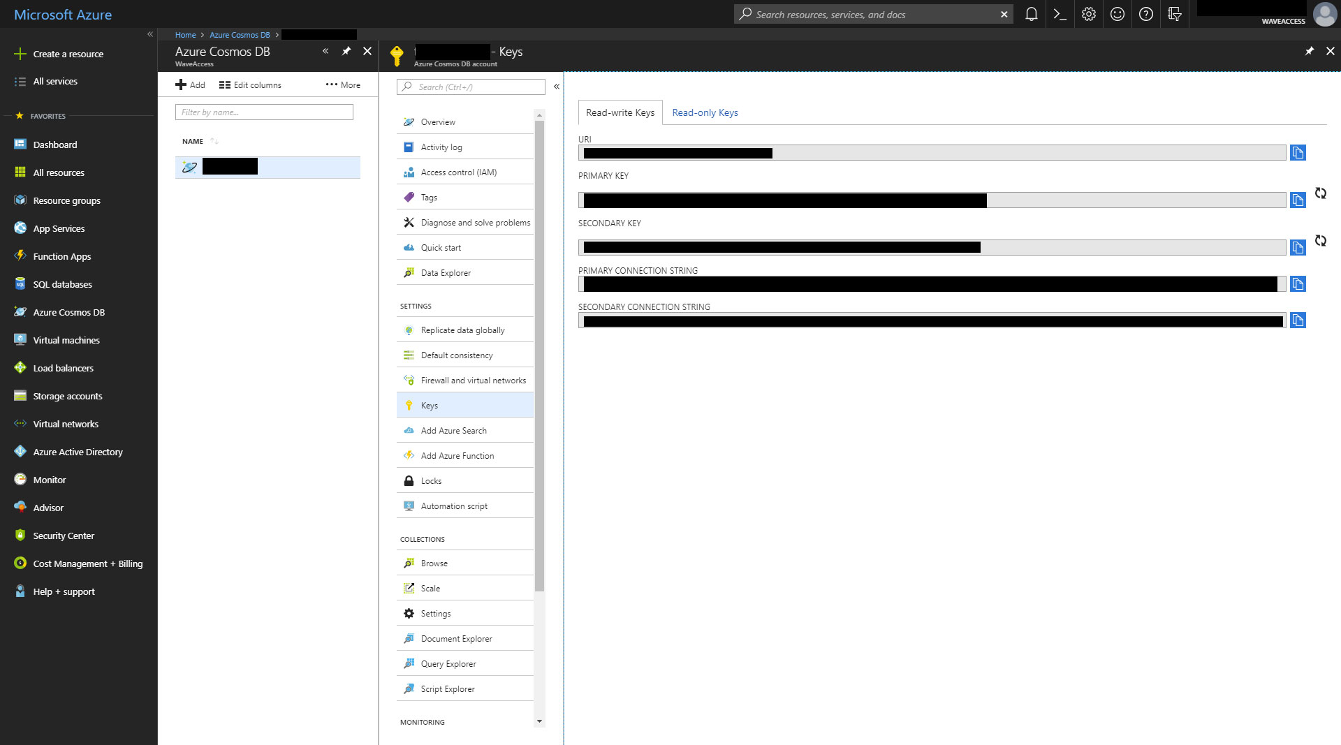 Experience Using Azure Cosmos DB in a Commercial Project
