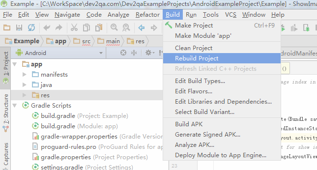 How To Rectify R Package Error In Android Studio Dzone Java