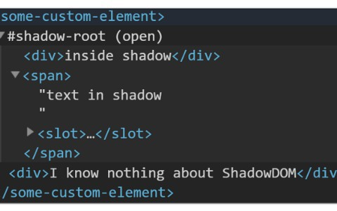 Query Languages That Can Handle ShadowDOM
