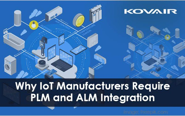 Why IoT Manufacturers Require PLM and ALM Integration