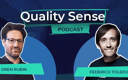 Quality Sense Podcast: Oren Rubin Web Test Automation Challenges