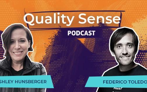 Quality Sense Podcast: Ashley Hunsberger – Leading Agile Transformation at Blackboard
