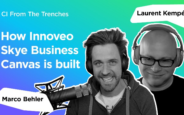 How Innoveo Skye Business Canvas Is Built: CI From the Trenches # 8 [Video]